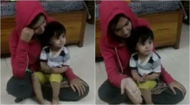 Videos of this toddler is going viral