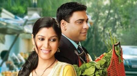 Ram Kapoor Sakshi tanwar web series, Kehte Hain Opposites Attract, ekta kapoor Kehte Hain Opposites Attract, sakshi tanwar web series, sakshi tanwar first web series, ram kapoor first web series, alt balaji, Ram Kapoor Sakshi tanwar show, bade ache lagte hain, sakshi tanwar news, ram kapoor news, television news, television updates, enytertainment news, indian express news, indian express