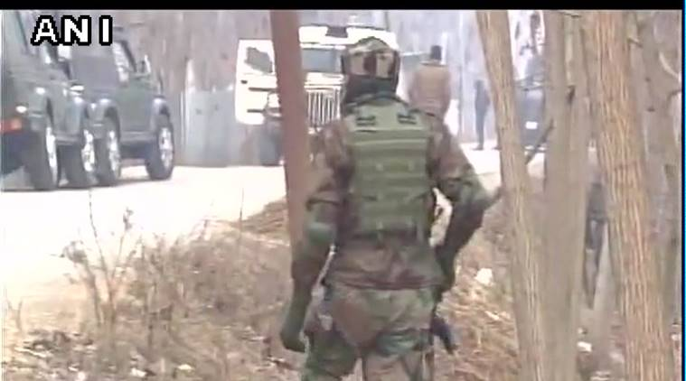 Encounter between security forces and terrorists in Bandipora, J&K; 2 armymen injured