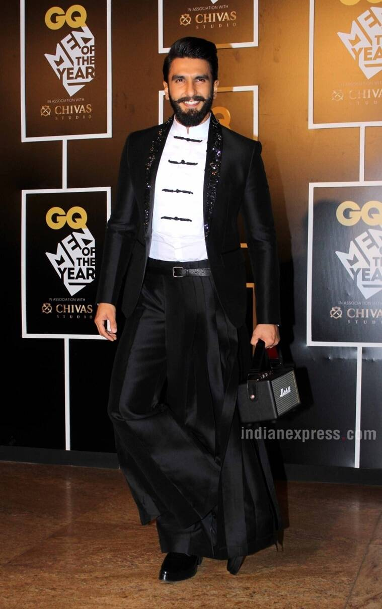 Ranveer Singh in a DSquared2 outfit from its Fall 2016 collection. (Source: Varinder Chawla)