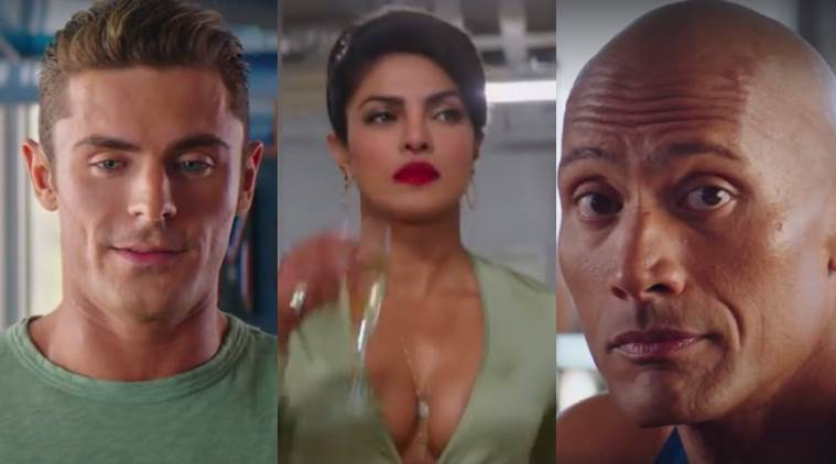 Priyanka Chopra, Baywatch, Zac Efron Dwayne Johnson