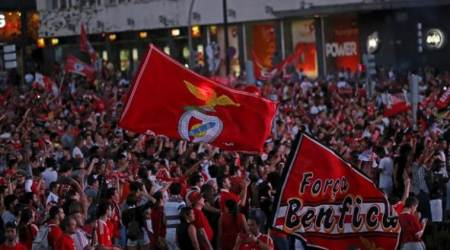 Benfica, COVID-19 pandemic, Benfica soccer team attacked, injuring two players, Benfica football club said in a statement.