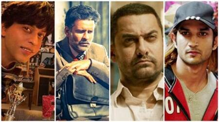 yearender 2016, Top performers 2016, top actors 2016, Aamir Khan, Manoj Bajpayee, Nawazuddin Siddiqui, Shah Rukh Khan, Sushant Singh Rajput, best actors 2016, best performers, bollywood artists, bollywood best performers, bollywood news, bollywood updates, entertainment news, indian express news, indian express