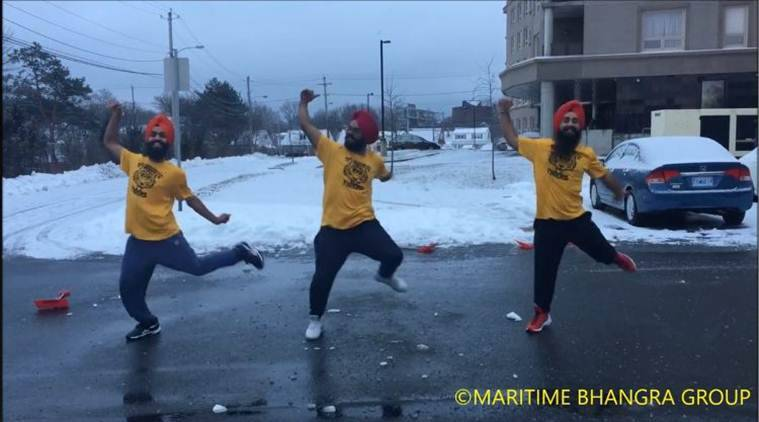 When Sia Cheap Thrill gets a Bhangra twist it's certainly hard to ignore.(Source: Maritime Bhangra Group/ Facebook)