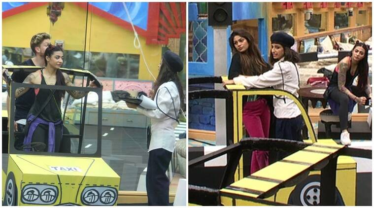 Bigg Boss 10 preview, bigg boss 10 tonight episode, priyanka jagga lopamudra fight, swami om pees, swami om manveer, swami om irritates, lopamudra bigg boss 10, manveer bigg boss 10, captaincy task bigg boss 10, luxury budget task bigg boss 10, bb taxi stand task, , bigg boss 10 news, bigg boss 10 updates, television news, television updates, entertainment news, indian express news, indian express