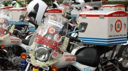 Bike ambulances launched in Kerala