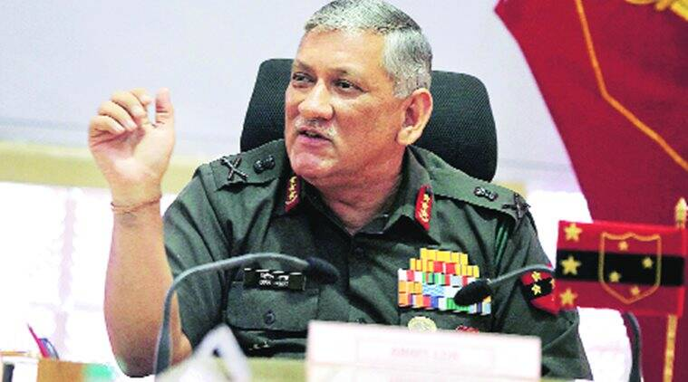 Image result for Army Chief Gen Bipin Rawat