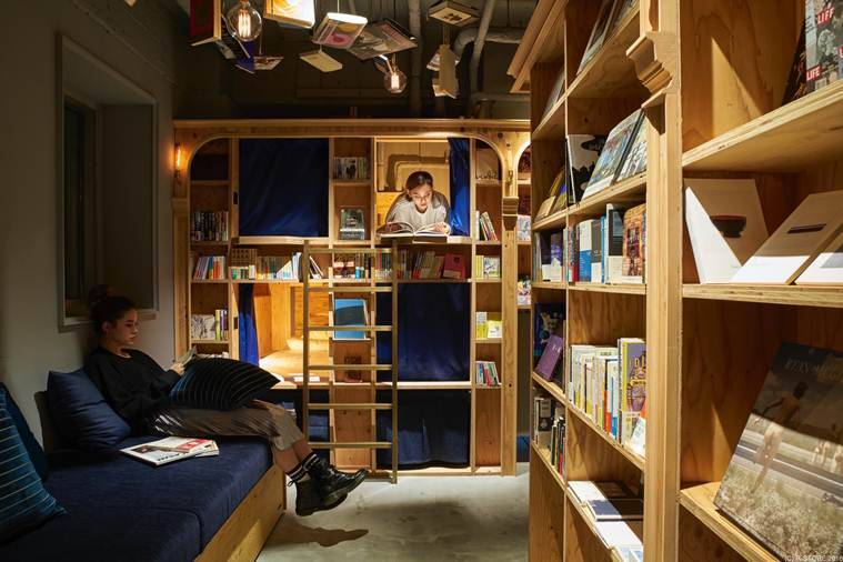 books, bookstores, unique bookstores, book hostels, book and bed toyko, book hostels, unique hotel in the world, books news, japan news, japan attraction, japan hotels, travel news, lifestyle news, world news, latest news