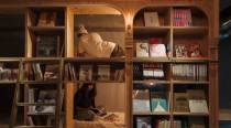 Want to live in a book shelf, reading your favourite books? In Japan, you can