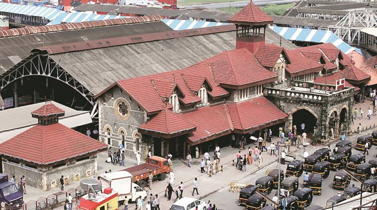 Platforms at Bandra station were re-numbered eight months ago. Express Archive