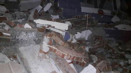 Hyderabad: Five-storey building collapses, at least five feared trapped