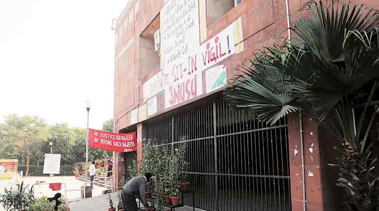 JNU, Iron grill at JNU, Najeeb Ahmed, Najeeb Ahmad missing, Protests by students, india news