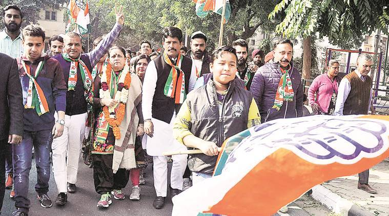 BJP, Congress, Chandigarh polls,Rajesh Gupta, Chandigarh BJP, Chandigarh Congress, news, latest news, India news, national news