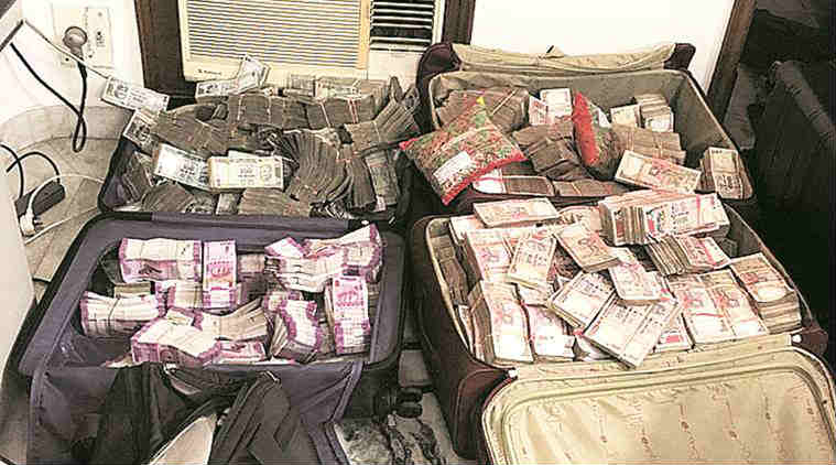 Delhi police raid, Delhi Police major crackdown, law firm raid, T&T law firm, Delhi Police Crime Branch, Delhi police, tax evaders, GK1, indian express news