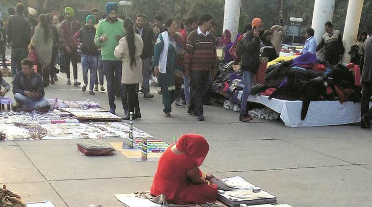 Image result for Street vendors sector 17 chandigarh