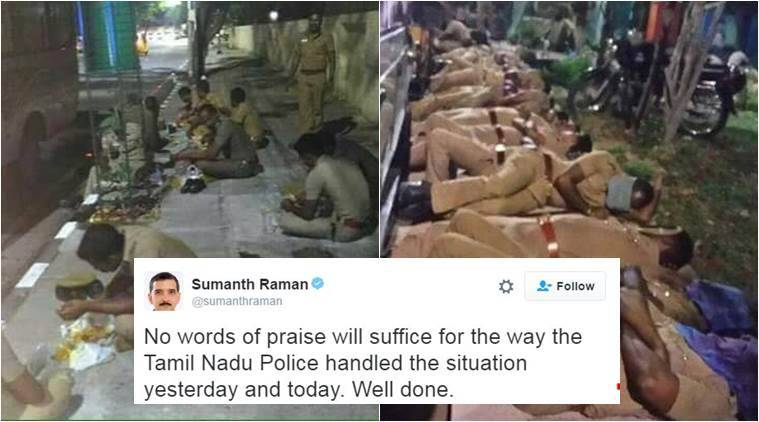 Chennai police are the real heroes