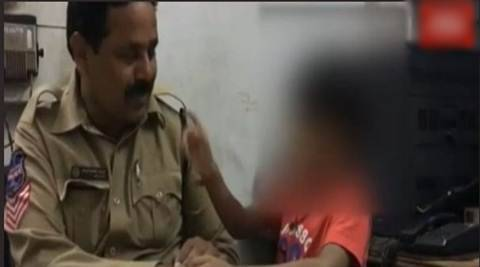child compalins to police, kid complaint to police agisnt family, kid complaint to police for playtime, hyderbad kid file complaint to police, hyderabad news, latest news, india news, latest news,