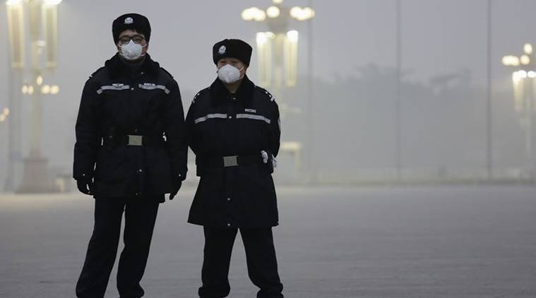 Beijing pollution, China pollution level, China pollution level excceds, China smog, China environmental issues, environment, air pollution, pollution, world news, indian express news