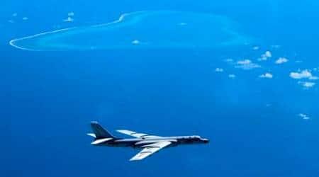 South China Sea dispute, China aircraft, Yellow Sea, China air fighter drills, CHina drills, news, latest news, world news, international news