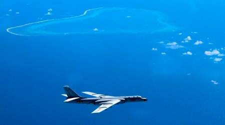 Taiwan says Chinese aircraft fly around island in weekend of drills