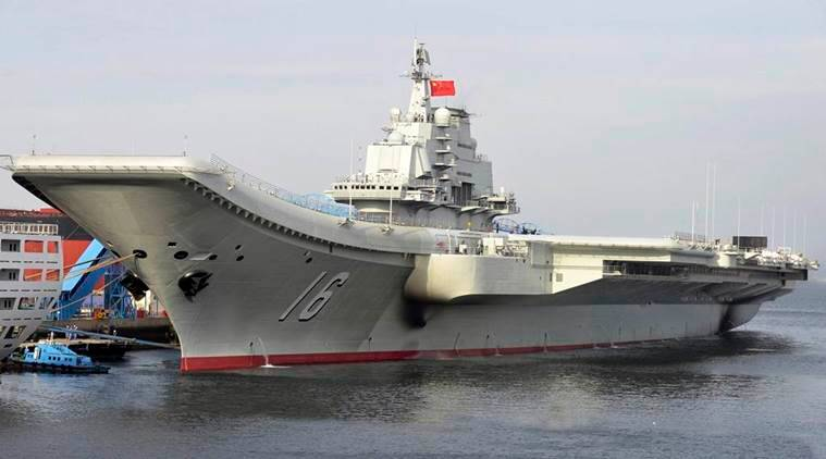China aircraft carrier, China-Taiwan, South China Sea, Chinese Navy, China tests aircraft carrier's capabilities on latest mission, world news, Indian Express