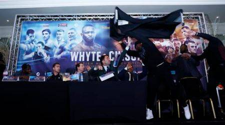 Chisora punished but bout against Whyte to go ahead