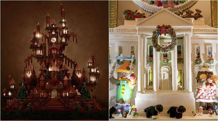 These larger-than-life gingerbread houses will leave you amazed.