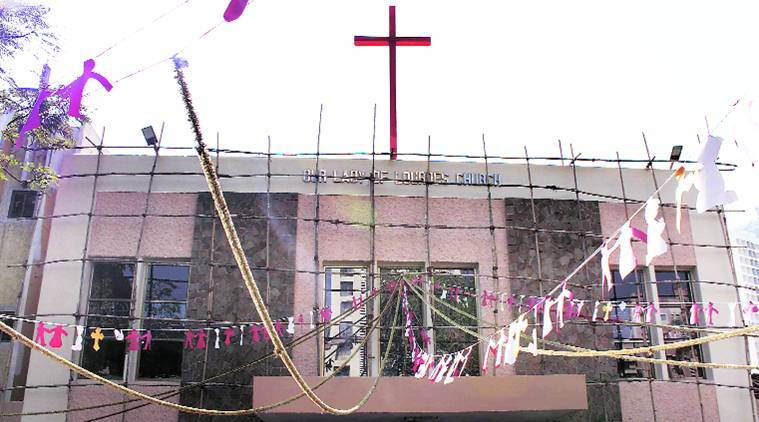 Orlem Church,  Orlem Church malad, Malad,  Orlem Church mumbai, mumbai, mumbai church, christmas, Orlem, orlem families, india news