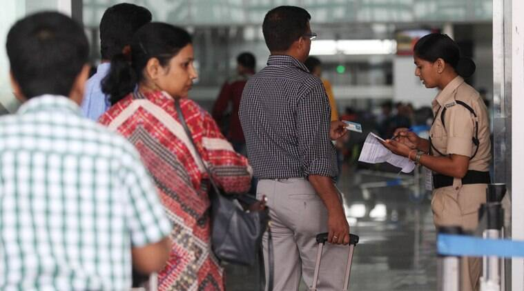 cisf, security check, airport security check, CISF Director General O P Singh, hand baggahe security stamp, india news, latest news