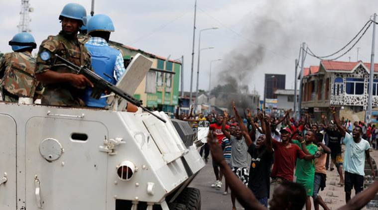 Congo, United Nations peacekeeping force
