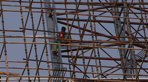 Man booked for illegal construction in govt colony inMumbai