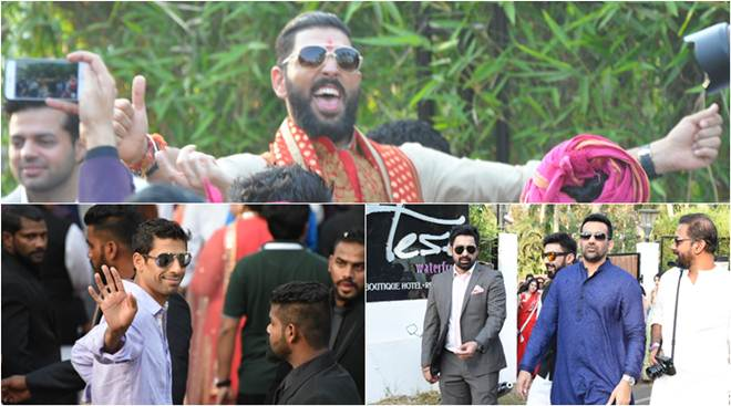 Virat Kohli, Nehra, Zaheer in attendance at Yuvraj Singh-Hazel Keech marriage, see inside pics