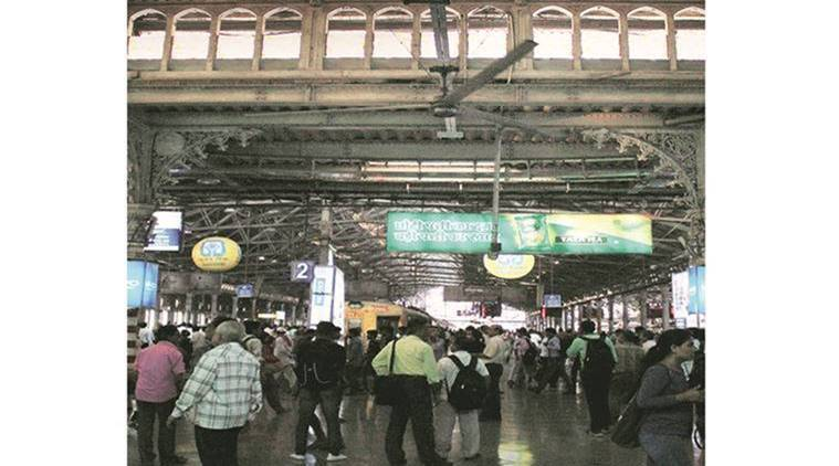 cst, mumbai railway station, mumbai railways, CST fan, HVLS fans, CST development, mumbai, mumbai news, indian express news