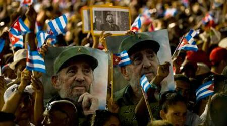 Cuba nears end of mourning for Fidel Castro with second big rally