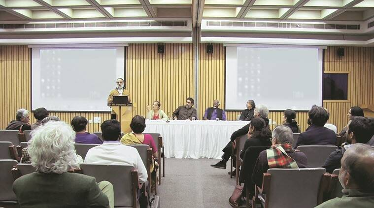 ilmmaker Kumar Shahani, Chandralekha, Maya Darpan,, Shahani and Chandralekha, Abhyas Lecture Series, Sadanand Menon's, Sundar Sarukkai and Meera Nanda, Body at the Centre, India news, Latest news