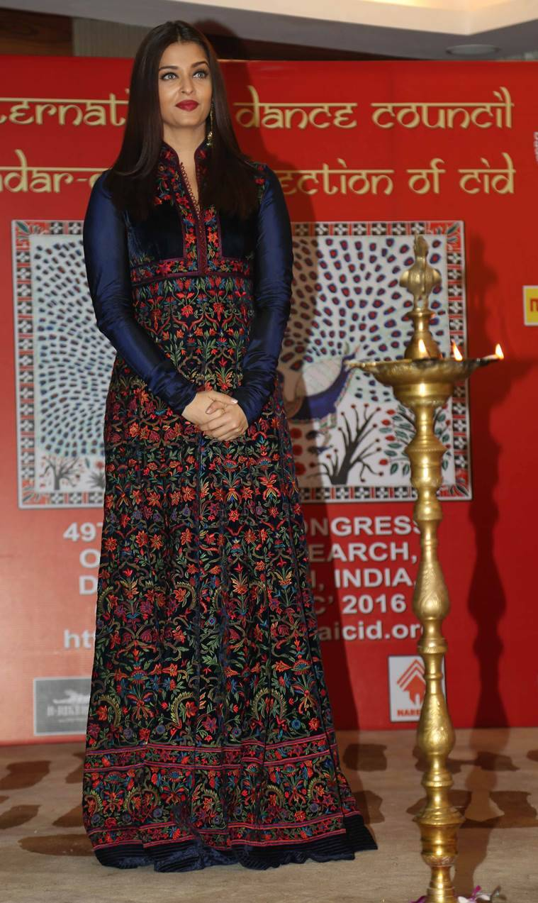Aishwarya Rai Bachchan during 49th World Congress on Dance Research. (Source: Varinder Chawla)
