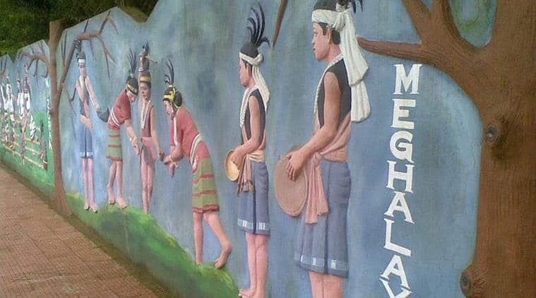 Meghalaya, Nongkrem, traditional dance, khasi festival, khasis festival, Ka Pomblang Syiem, religious festival, meghalaya news, meghalaya art and culture, indian express news