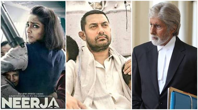 bollywood 2016, bollywood in review 2016, 2016, Dangal, pink, rustom, ms dhoni the untold story, aligarh, aana hazare, veerupan, neerja, entertainment news, indian express, indian express news