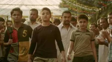 Beti Bachao Beti Padhao, Kathua Beti Bachao Beti Padhao,  Kathua Dangal, Dangal, Dangal movie, dangal screening, womens education, education news, indian express news, amir khan, Geeta Phogat, Babita phogat, womens rights, Jammu Kashmir women,