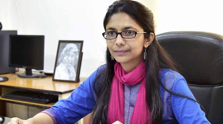 DCW chief Swati Maliwal, illegal liquor vend, Delhi Commission for Women, Delhi illegal liquor vend, Nobel Cause Foundation NGO, indian express news