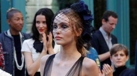After being Karl Lagerfeld's muse for years; Lily-Rose Depp finally makes her Chanel debut