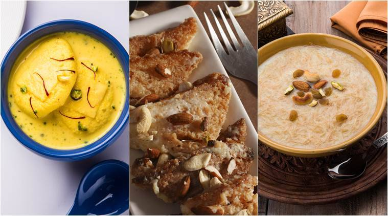 From kheers to shahi tukra try these five dessert recipes for every recipe dessert recipe indian desserts indian dessert recipes eid recipes eid forumfinder Choice Image