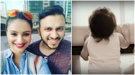 Ex-Bigg Boss contestant Dimpy Ganguly shares adorable pictures of her 6-month-olddaughter