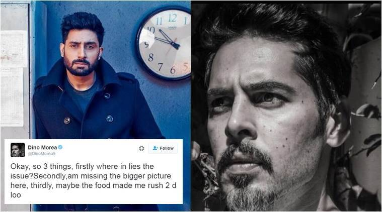 Dino Morea responds to Abhishek Bachchan's parody account