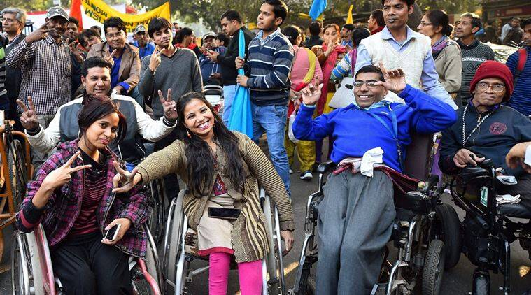disabilities, disability rights, disability jobs, differently abled, Disability act, government jobs, reservations, disability reservation, education news, indian express news