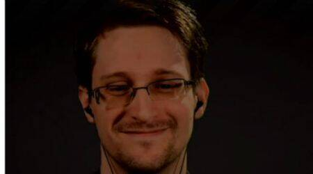 Snowden sends strong anti-surveillance message to Trump