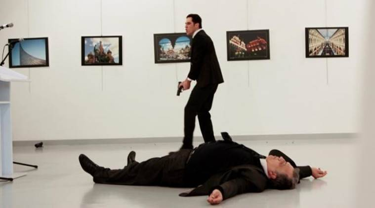 Russia ambassador killed, Russia ambassador assassination, Russia-Turkey, Russian ambassador killed in Turkey, Turkey news, world news, Indian Express