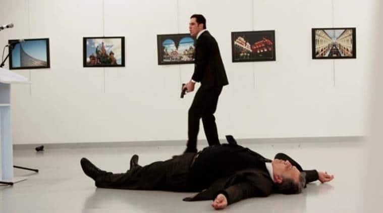 Russia ambassador killed, Russia ambassador assassination, Russia-Turkey, Russian ambassador killed in Turkey, Turkey news, world news, Indian Express