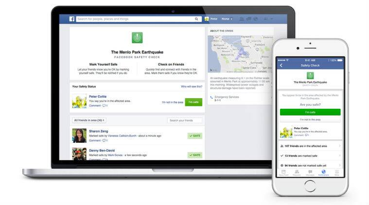 Facebook, Safety Check, Facebook Safety Check, apps, false Bangkok safety check, bangkok false safety check alarm, Facebook Safety Check request, mark safe on Facebook, technology, technology news