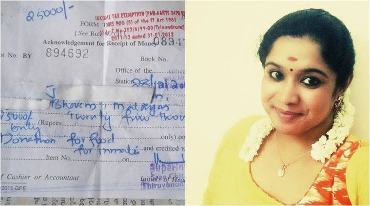 kerala woman facebook post, kerala woman asked her rate, kerala viral facebook post, kerala woman teaches indecent man a lesson, kerala woman asked her rate, kerala woman Facebook post, sreelakshmi satheesh, sreelakshmi satheesh facebook post, indian express, indian express news, indian express trending, viral, trending